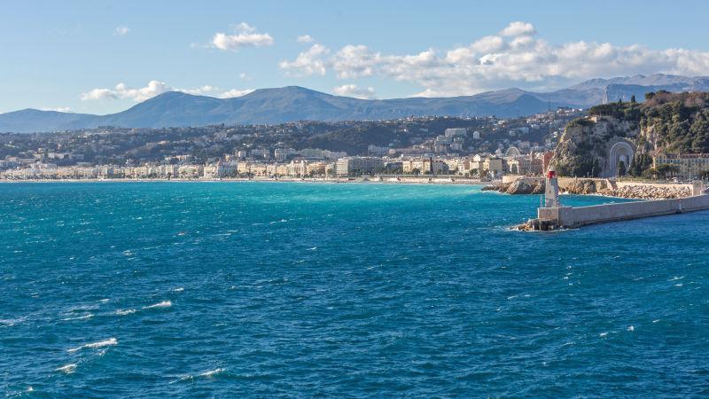 Vädret i Nice