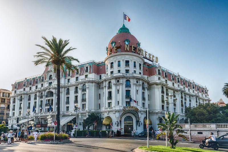 Hotel Negresco i Nice